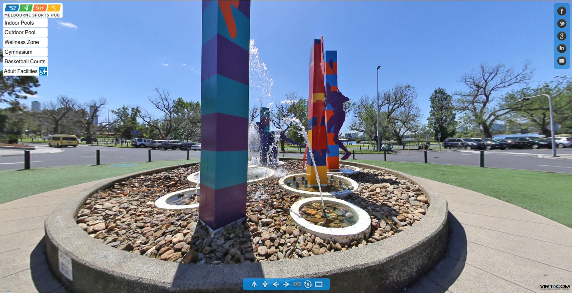 Changing Places at Melbournce Sport and Aquatic Centre (MSAC)