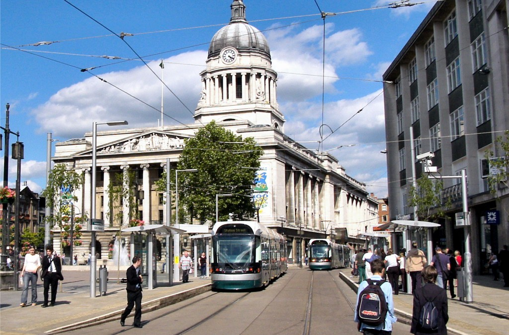 Nottingham City Centre