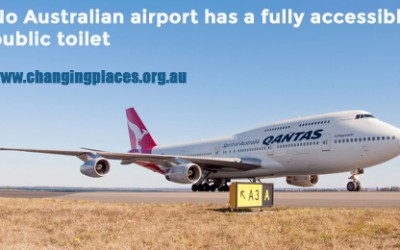 Help place a Changing Place at an Aussie airport!
