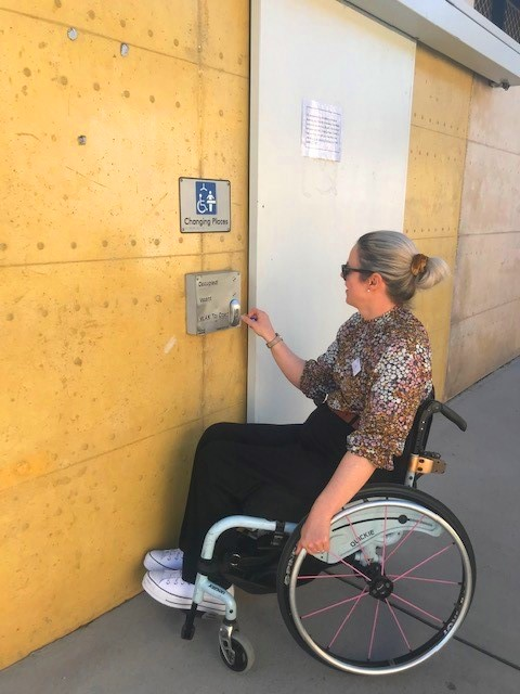 Changing Places make a positive impact not only for an individual, but for the entire community